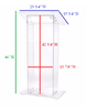Clear Acrylic Plexi Podium Rental