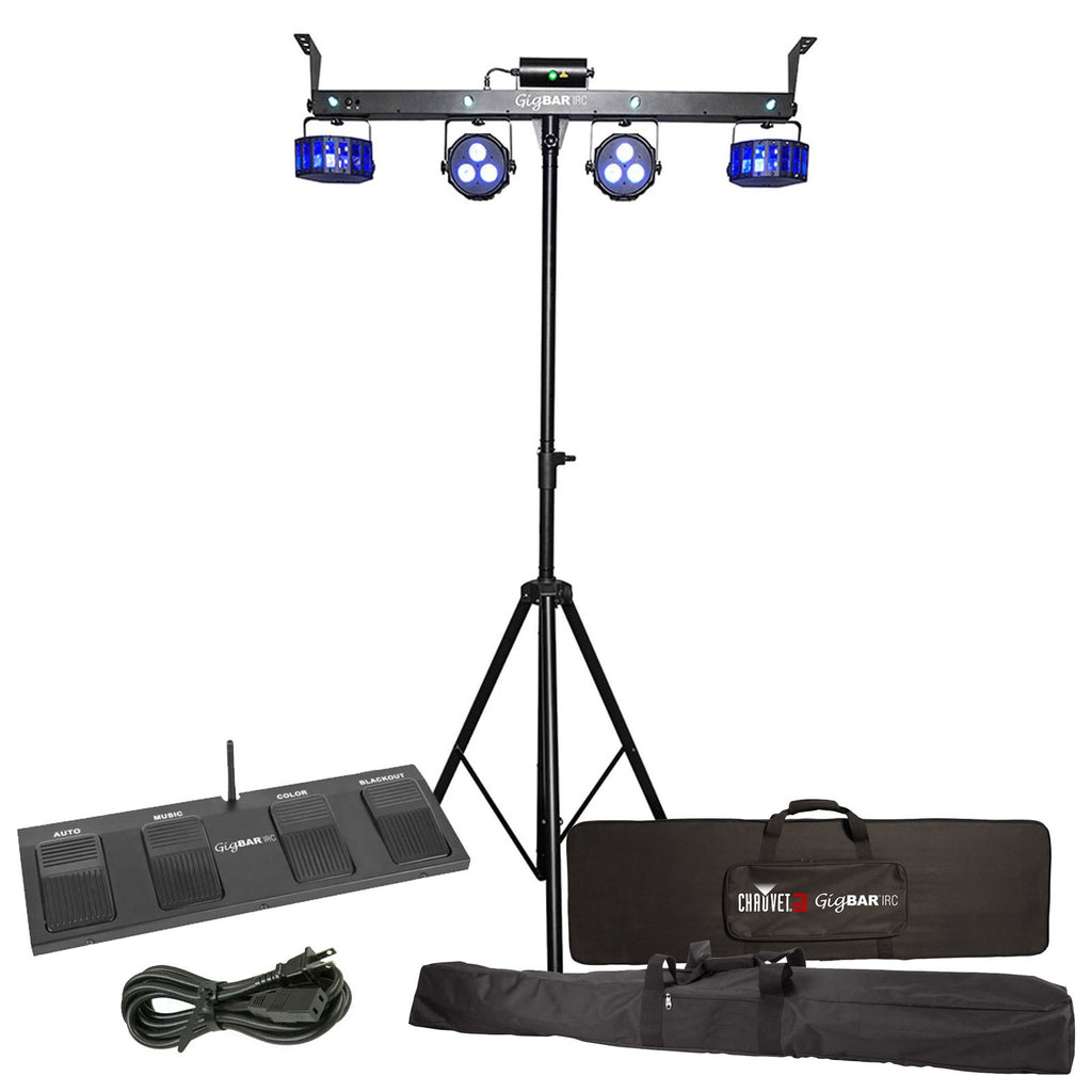 Chauvet GigBar Stage Light System with IRC Remote  sc 1 st  Pro AV Rentals & Rent DJ Lighting - Chauvet GigBar Stage Light System with IRC Remote ...