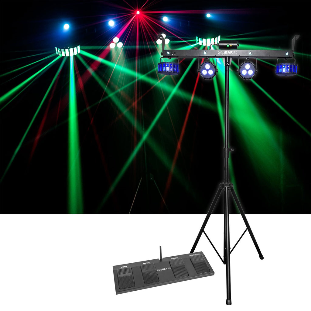 Rent Dj Lighting Chauvet Gigbar Stage Light System With