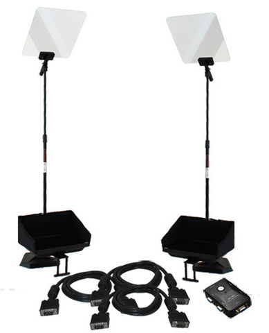Presidential Dual Pair Prompter Rental