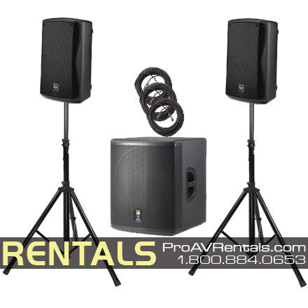 Rental Packages - DJ Equipment, Speakers, Party, Lighting