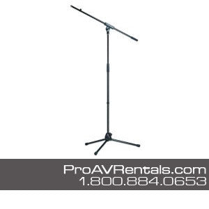 rent audio visual microphone stand rental pro audio visual rentals nyc ny nj ct pa. Black Bedroom Furniture Sets. Home Design Ideas