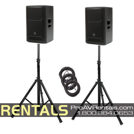 Pro Powered Speaker Package