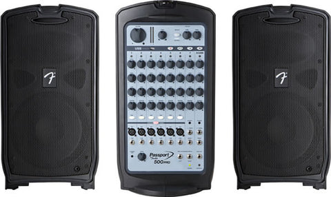 Fender Passport 500 Watt Pro PA System Rental