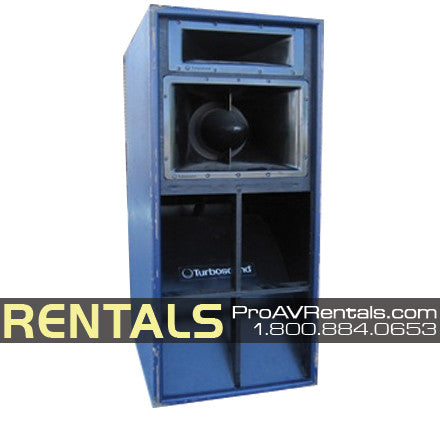 Rent Sound Turbosound Tms 4 Passive 3 Way Speaker Rental