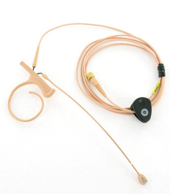 DPA d:fine Single-Ear, Wireless Headset Microphone Rental (Beige)