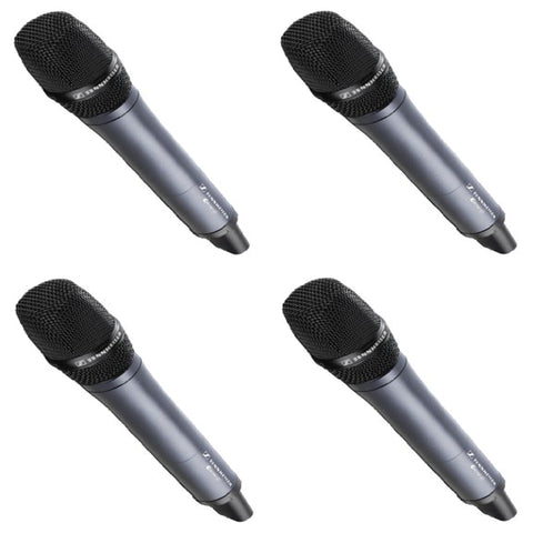 Sennheiser EW100G3 Wireless 4-Pack System, Handheld Wireless