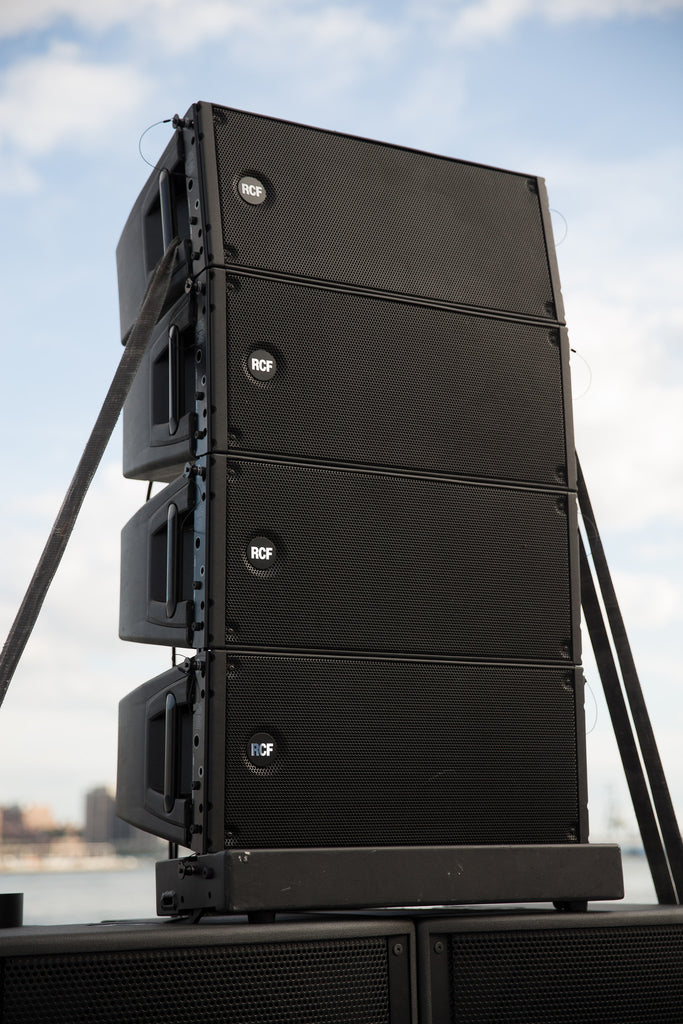 Rental - 30,000 Watt RCF Line Array with Yorkville Subs