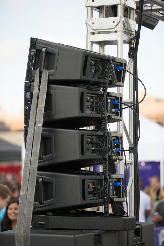 Line Array Rental Rcf Hdl20a Nyc Pro Audio Visual