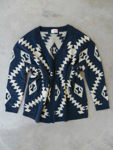 Native Ways Knit Cardigan