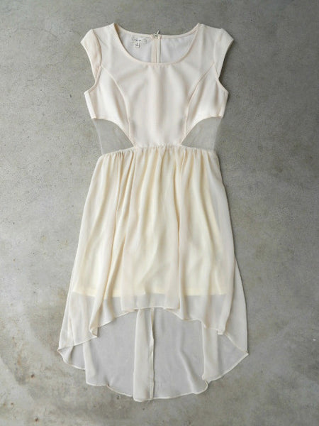 Ivory Aspirations Dress - deloom