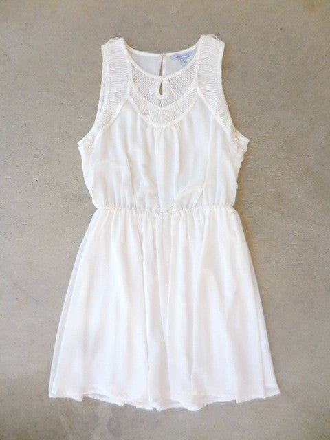 Autumn Ivory Party Dress - deloom
