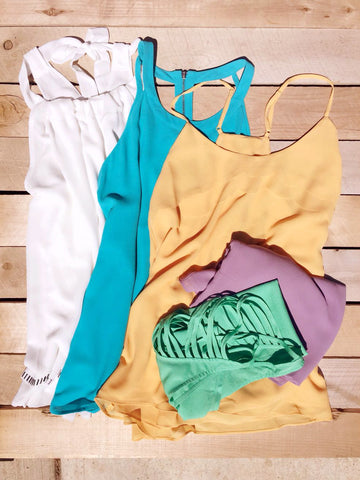 Beachy Summer Top Collection - deloom