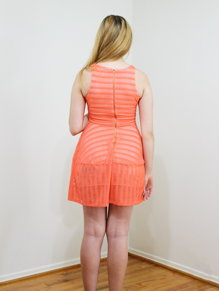 Coral Drifter Dress - deloom