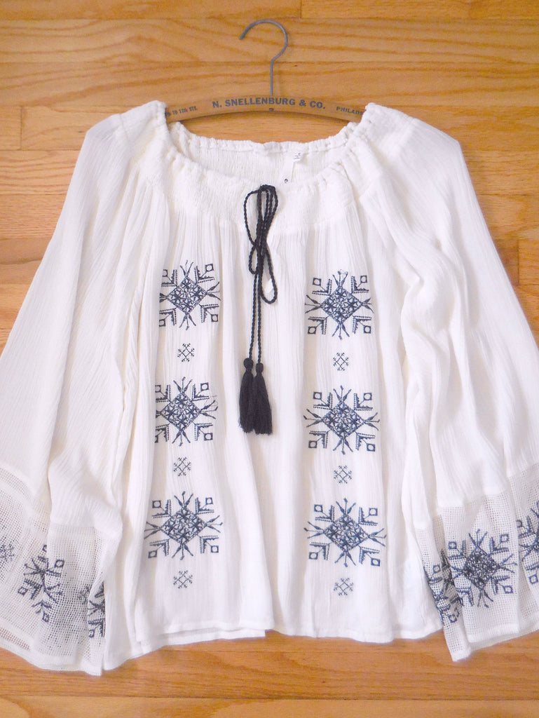 Bohemian Song Bird Blouse - deloom
