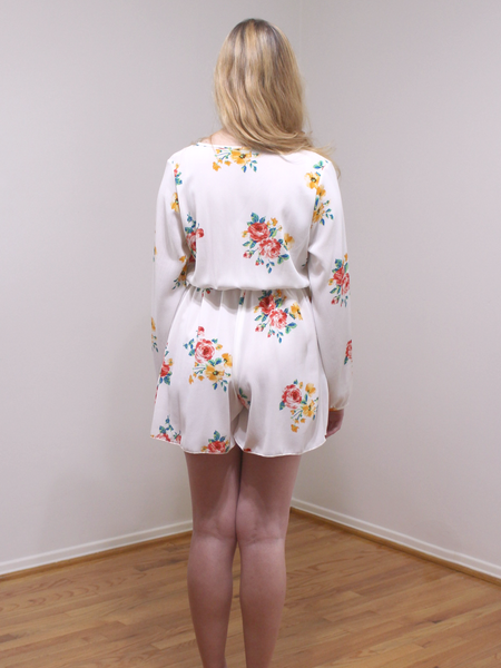 Painted Petal Romper
