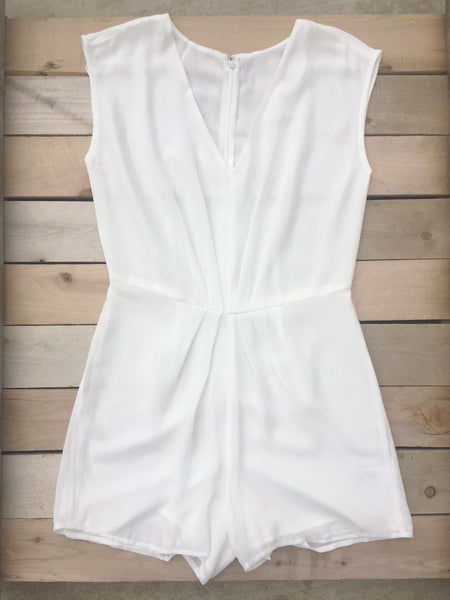 Ivory Twilight Party Romper - deloom