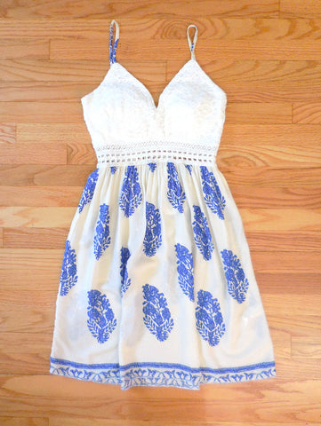 Crochet Greek Isle Party Dress - deloom
