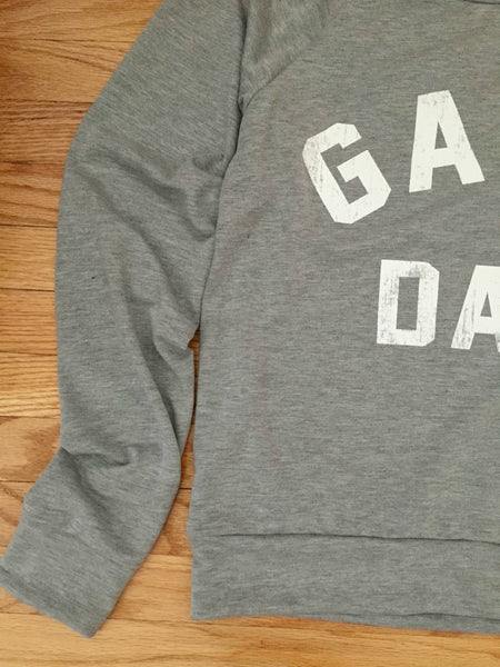 Gray Game Day Sweatshirt - deloom