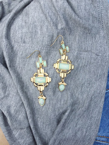 Opal Fantasque Drop Earrings