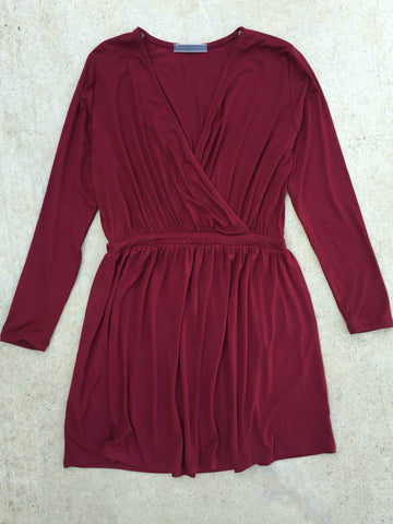 Woodland Dress in Raspberry