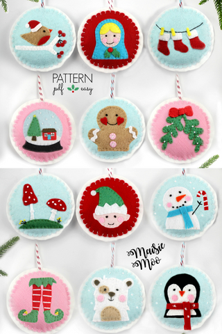 Christmas Ornament Patterns