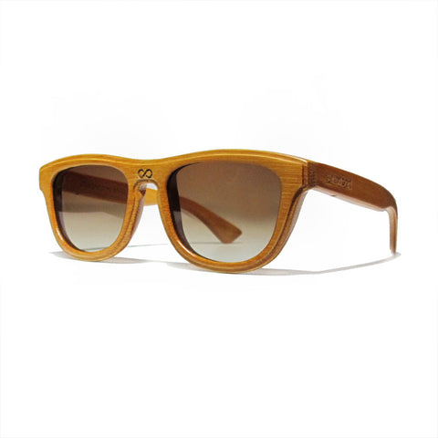 Alton Bamboo Wood Polarized Frames