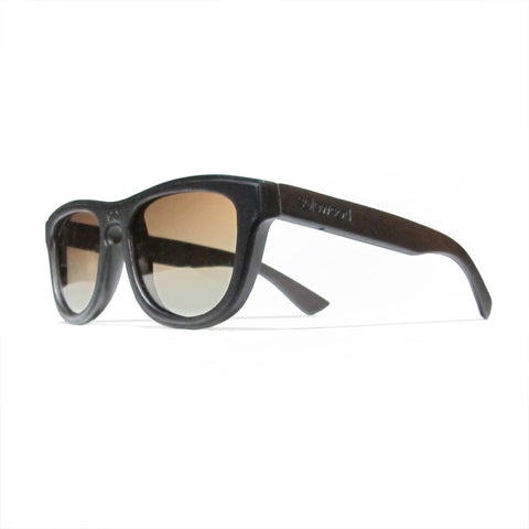 Alton Ebony Wood Polarized Frames