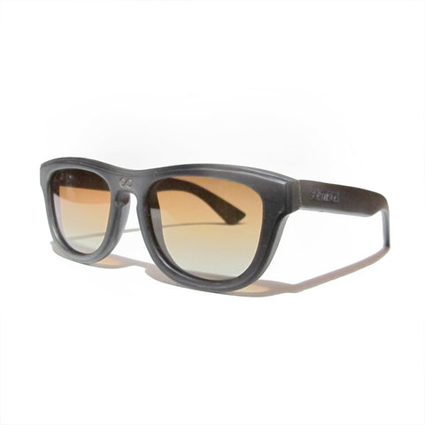 Alton Handscraped Dark Zebra Wood Polarized Frames