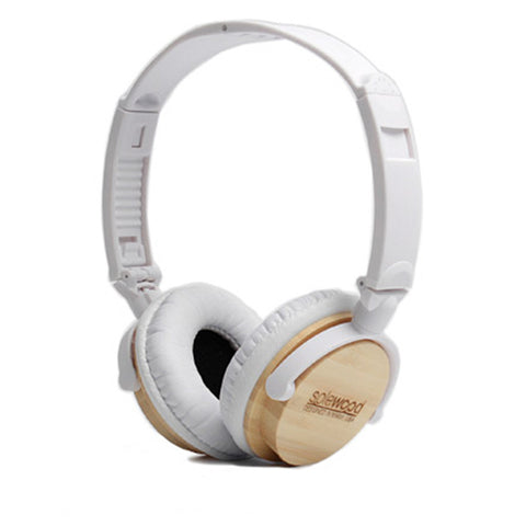 Bamboo Wood Headphones