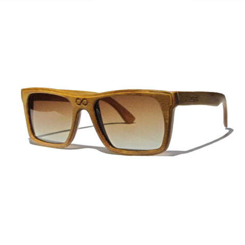 Collins Bamboo Wood Polarized Frames