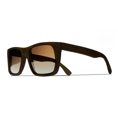 Collins Ebony Wood Polarized Frames