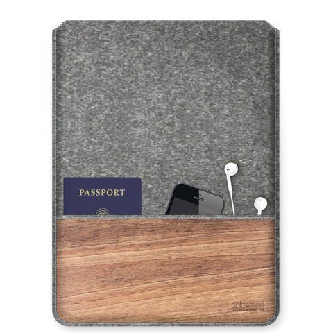 Flannel Wool Sleeve: Macbook Pro 15in