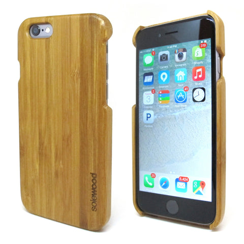 iPhone 6 Bamboo Wood Case