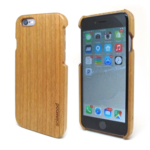 iPhone 6 Maple Wood Case