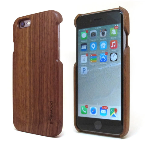 iPhone 6 Sapele Wood Case