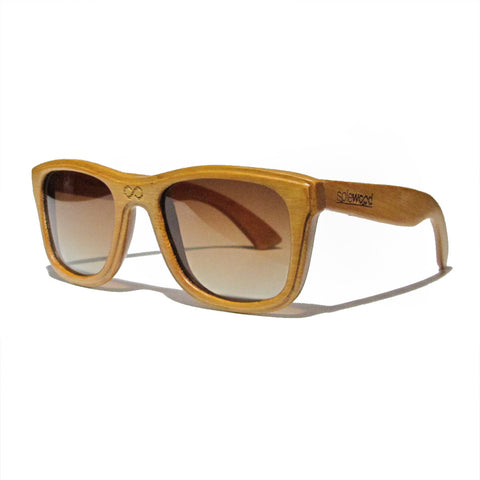 Lenox Bamboo Wood Polarized Frames