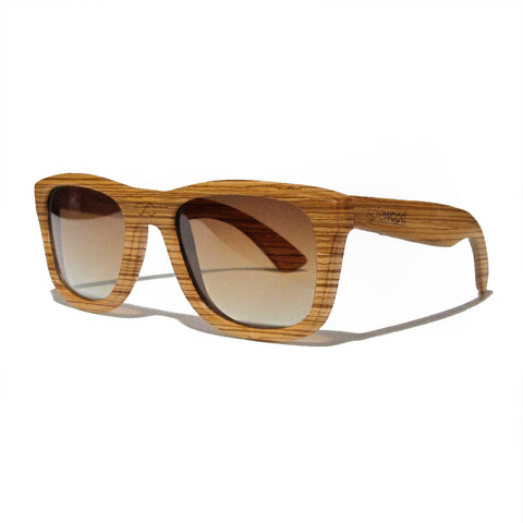 Lenox Zebra Wood Polarized Frames