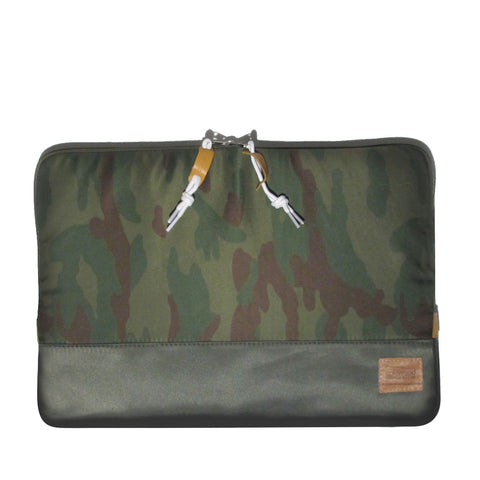 Nylon Case Macbook Pro 13in & 15in: Olive/Camo