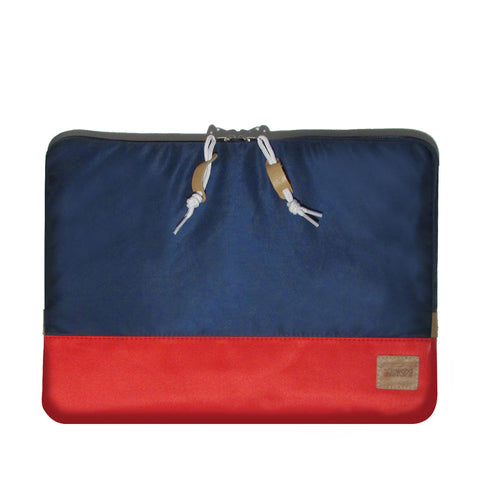 Nylon Case Macbook Pro 13in & 15in: Navy/Red