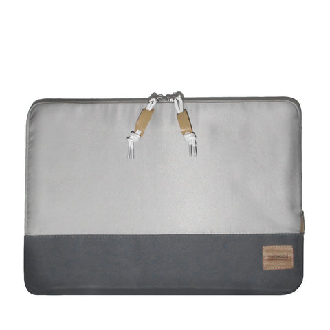 Nylon Case Macbook Pro 13in & 15in: Silver/Grey