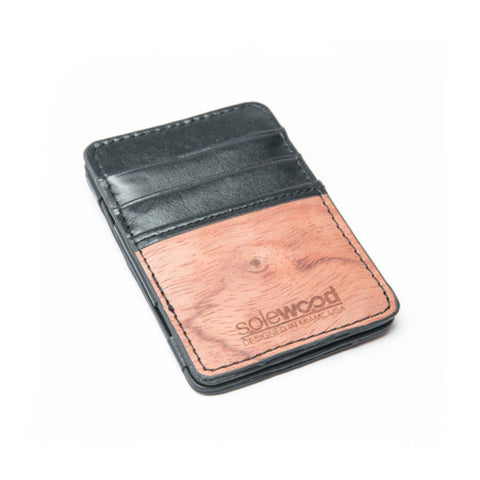Magic Wood Wallet: Black