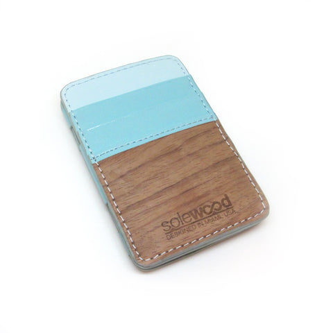Magic Wood Wallet: Mint