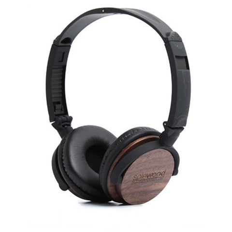 Walnut Wood Headphones
