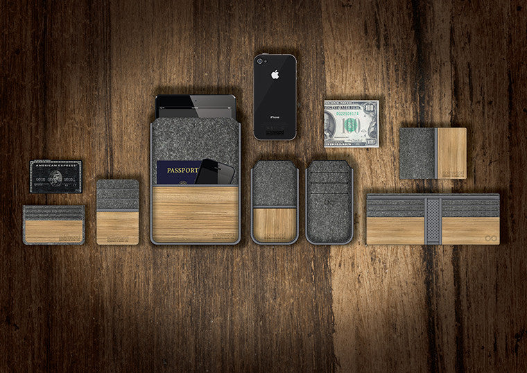 STANDARD WOOD WALLETS