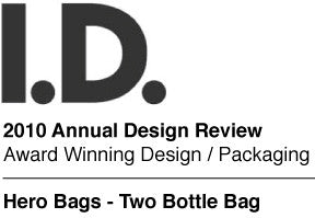 Two Bottle Bag Black