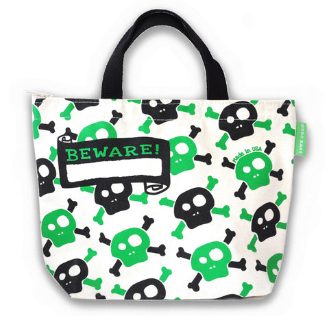 Pirate Skull Lunch Bag