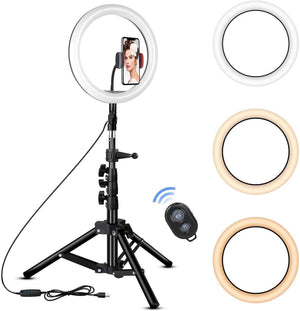 "GlowPro 10"" Ring Light Kit"