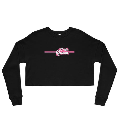 Candy Queen Retro Crop Sweatshirt
