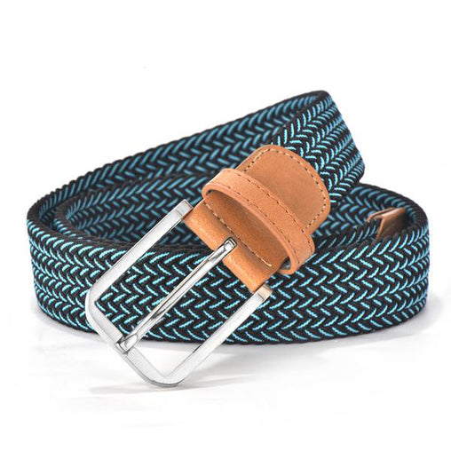 Hot Colors Casual Knitted Belt  Unisex